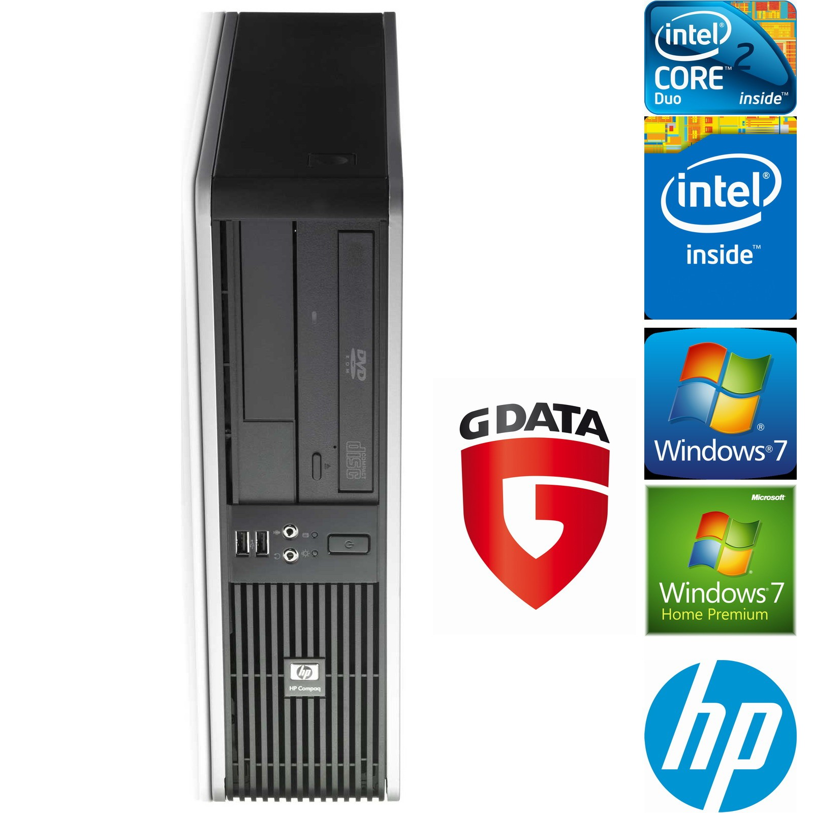 HP-Compaq-DC7900SFF-Core2Duo-E7400-2x2-8GHz-2GB-160GB-DVDRW-Win7-GData-IS